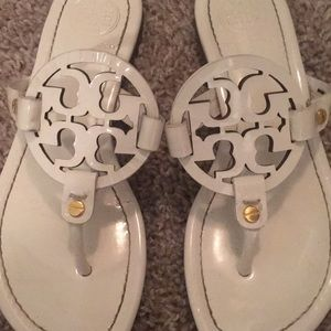 Tory Burch Shoes - Tory Burch white patent sandals